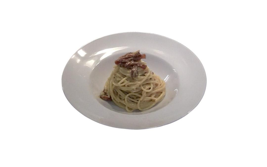 Spaghetti à la Carbonara véritable